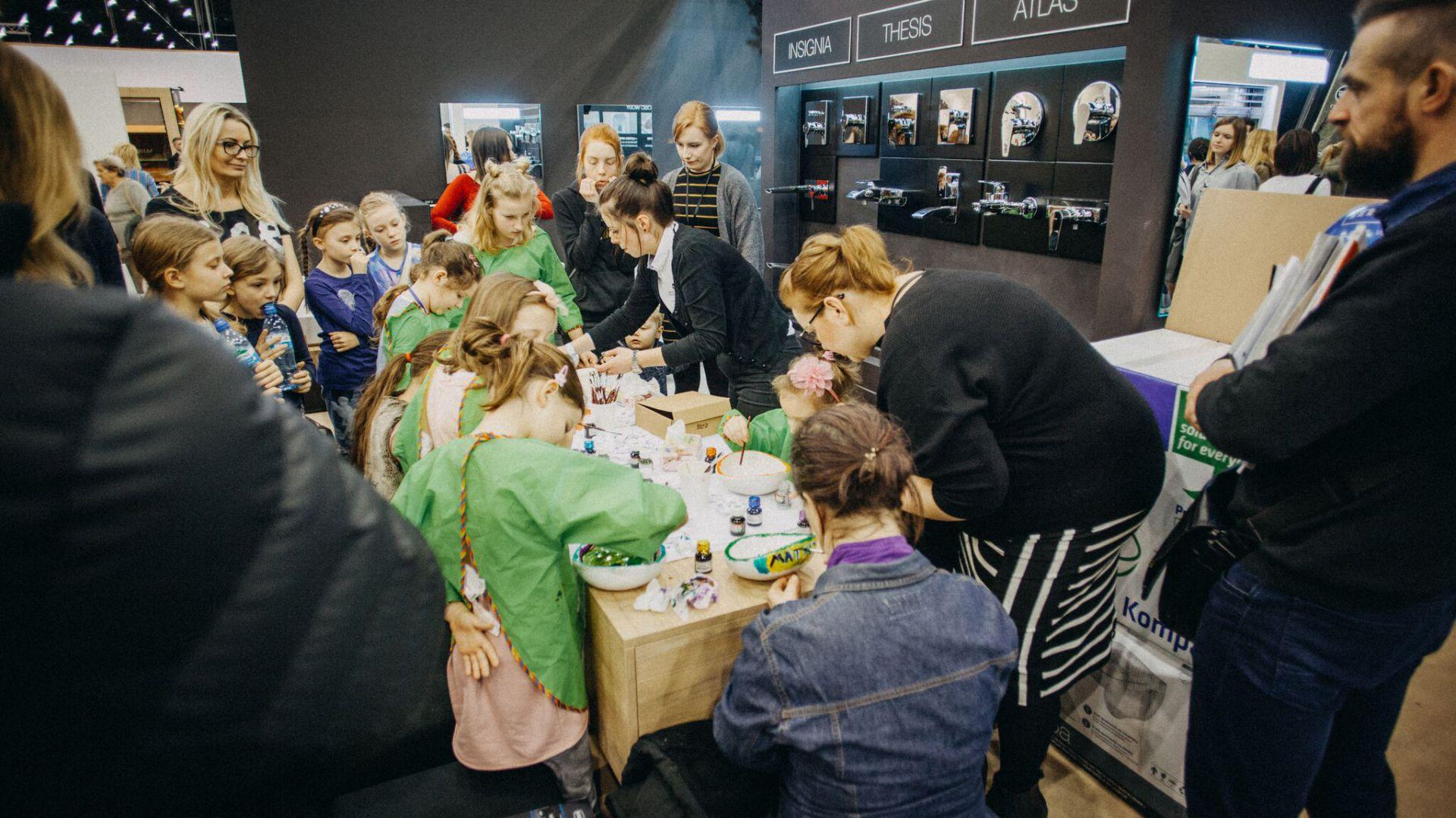 4 Design Days warsztaty dla dzieci. Fot. Roca