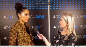Znana dziennikarka, prezenterka tv, bizneswoman opowiedziała w trakcie 4 Design Days, jak mieszkają polskie gwiazdy.