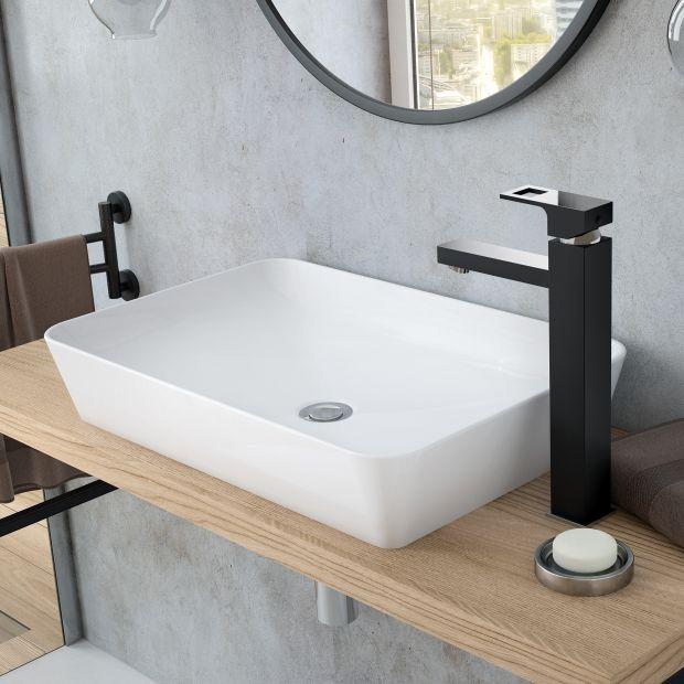 Baterie umywalkowe - 3 kolory, style i kształty