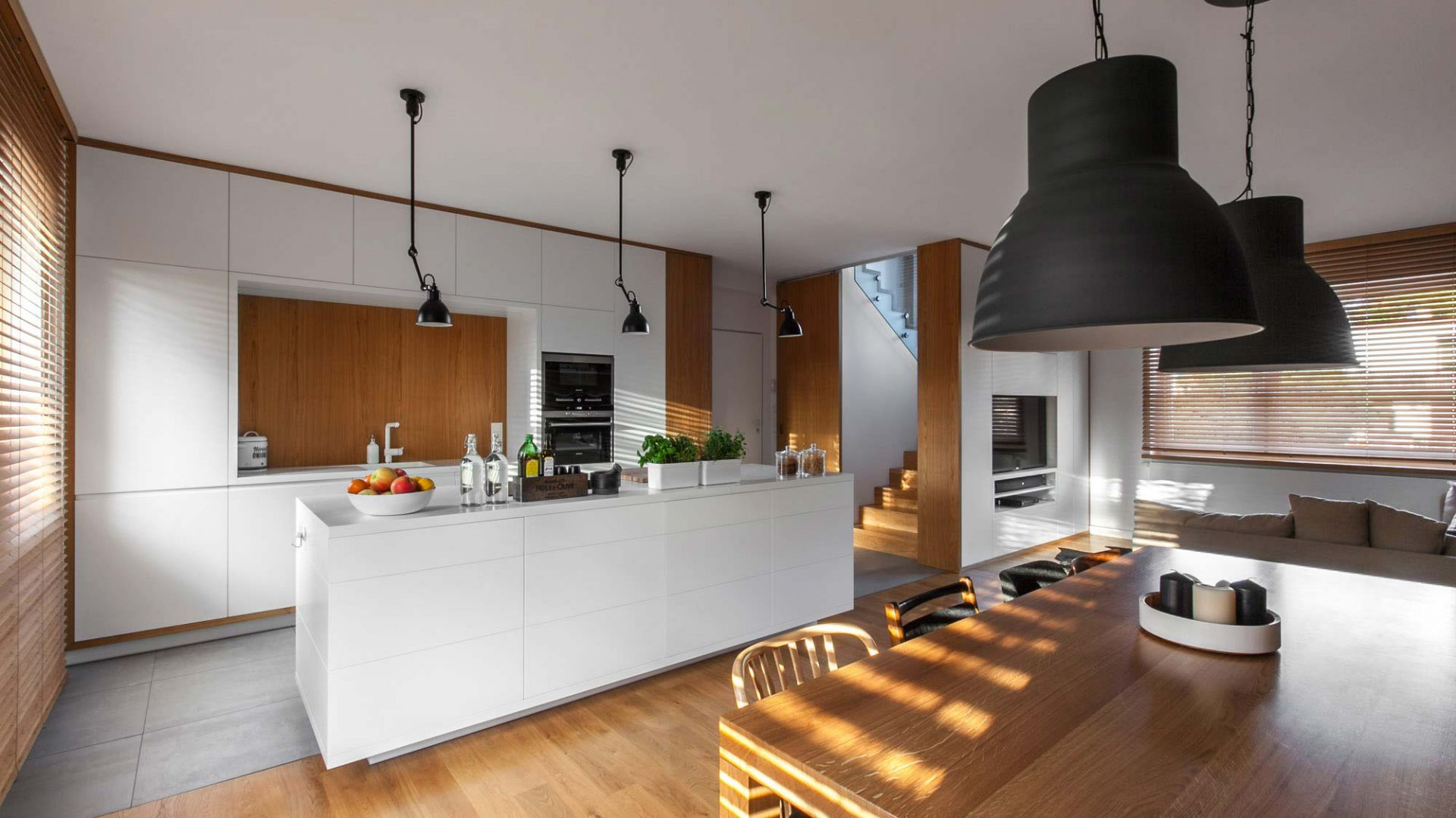 Nowoczesny dom dla rodziny: D79 House. Projekt: Paweł Garus, Jerzy Woźniak, Kinga Kin; mode:lina™. Zdjęcia: Marcin Ratajczak