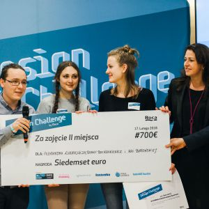 4 Design Days: Konkurs One Day Design Challenge by Roca: wręczenie nagród II miejsce. Fot. Roca