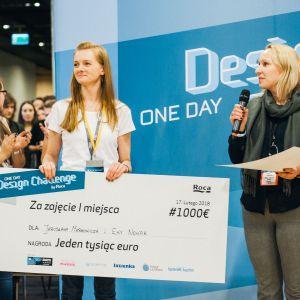 4 Design Days: Konkurs One Day Design Challenge by Roca: wręczenie nagród I miejsce. Fot. Roca