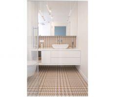 Łazienka przy sypialni. Zdjęcia: Biuro Architektoniczne ArchOMEGA