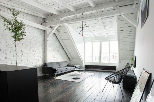 Mieszkanie na poddaszu - zobacz piękne wnętrze