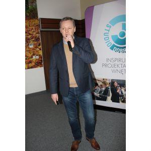 Dariusz Jędrzejczak, kierownik działu handlowego i marketingu, Mochnik. Studio Dobrych Rozwiązań, 28.02 Bydgoszcz