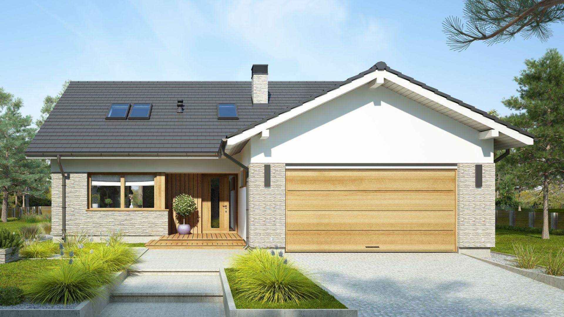 Ekologiczne metody na ogrzewanie domu, projekt domu Judyta. Fot. Dobre Domy