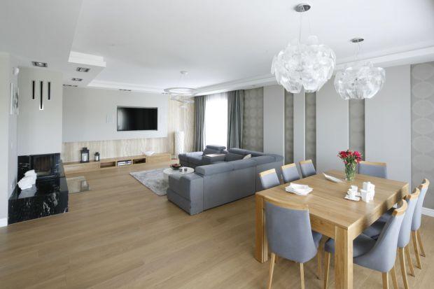 Aranżacja salonu. 15 pomysłów na podłogę