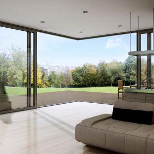 Panoramiczne przeszklenia są modne. Fot. Aluminiowe