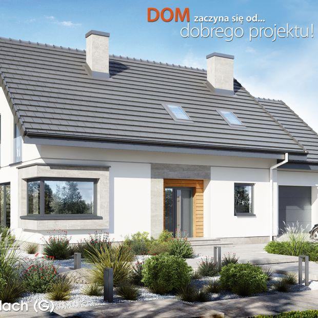 Dom w szmaragdach (G) zachwyca funkcjonalnością! Zobacz projekt i aranżację