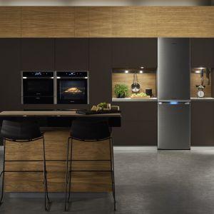 Lodówka z serii Chef Collection z technologią Twin Cooling Plus, która umożliwia niezależną pracę zamrażarki i chłodziarki. Fot. Samsung