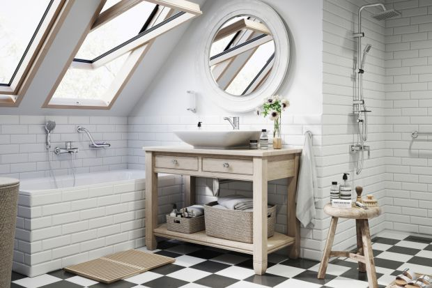 Łazienka na poddaszu - tak możesz ją urządzić