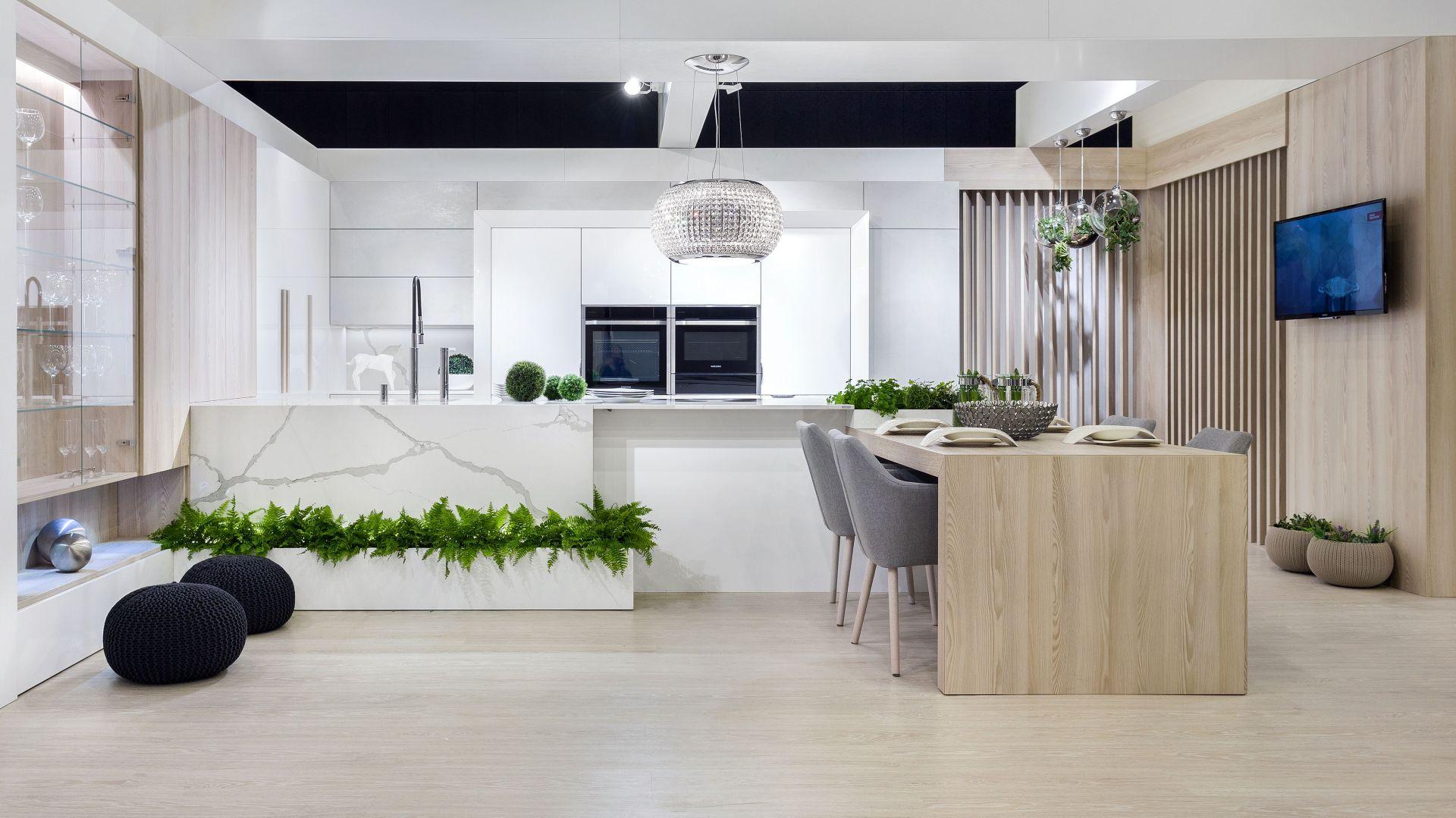 Kuchnia Stone zachwyca przemyślaną kompozycją, dyskretnym połączeniem najwyższej jakości materiałów oraz subtelnością stylowych dodatków. Fot. Vigo