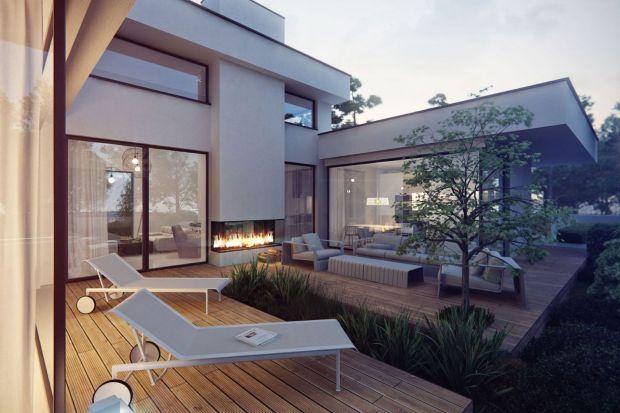 Komfortowy dom blisko natury - zobacz piękny projekt