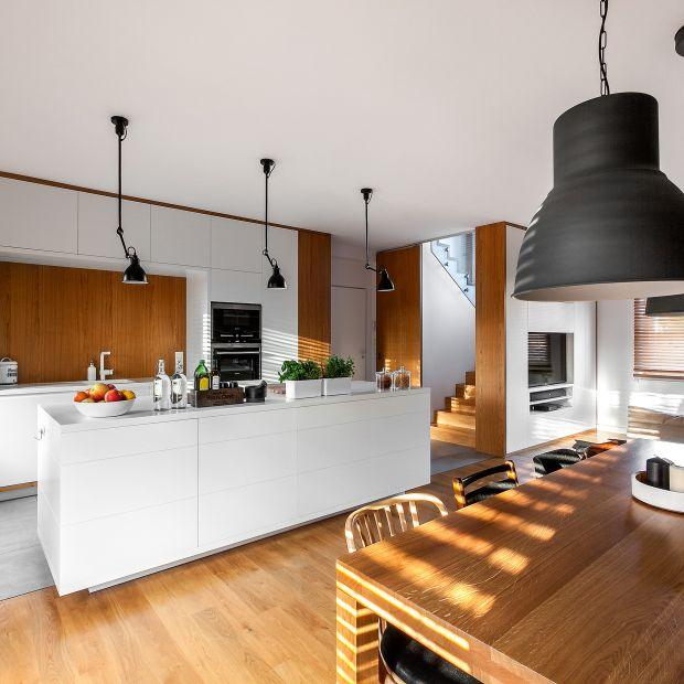 Kuchnia z jadalnią - zobacz gotowy projekt wnętrza