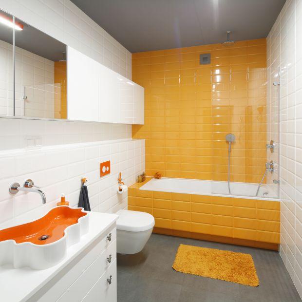 Kolorowa łazienka - zobacz gotowy projekt wnętrza