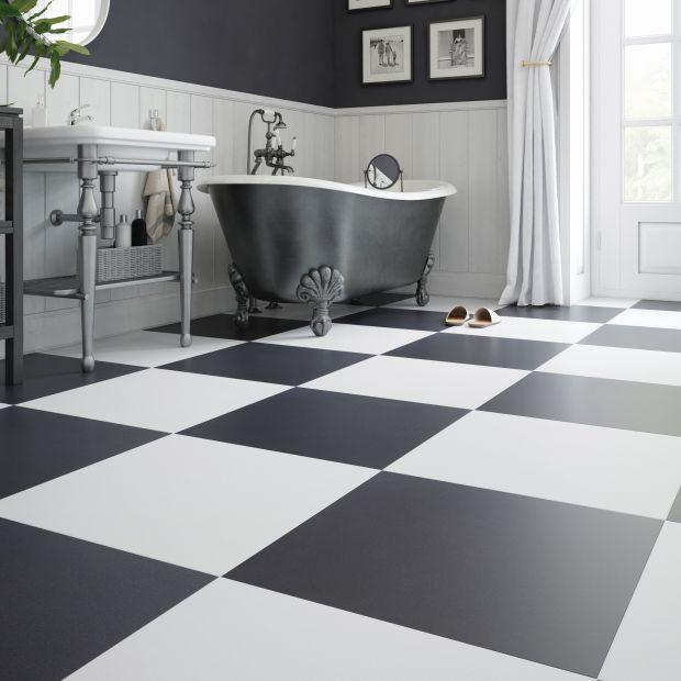 Czarno-biała łazienka: elegancka i ponadczasowa