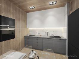 Otwarta kuchnia. Projekt: Artur Jóźwik / INVENTIVE studio