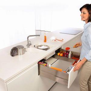 Szafka na przechowywanie detergentów. Fot. Blum