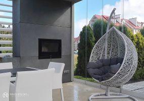 Altana ogrodowa. Projekt: Aleksandra Mierzwa, Wiktor Kuc / Maka Studio