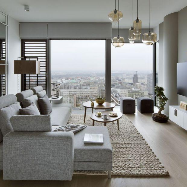 Piękny apartament - eleganckie wnętrze inspirowane Japonią