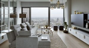 Zgodnie z życzeniem inwestorów motywem przewodnim aranżacji niespełna 60-metrowego apartamentu stała się Japonia i styl Zen.