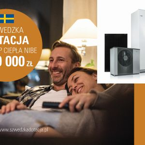Od 1 marca do 31 maja 2018 r. można się ubiegać o Szwedzką Dotację na system NIBE.