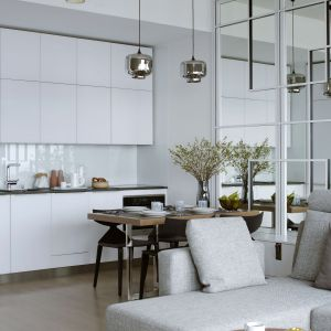 Piękny apartament inspirowany Japonią. Projekt: Monika i Adam Bronikowscy. Zdjęcia: Yassen Hristov