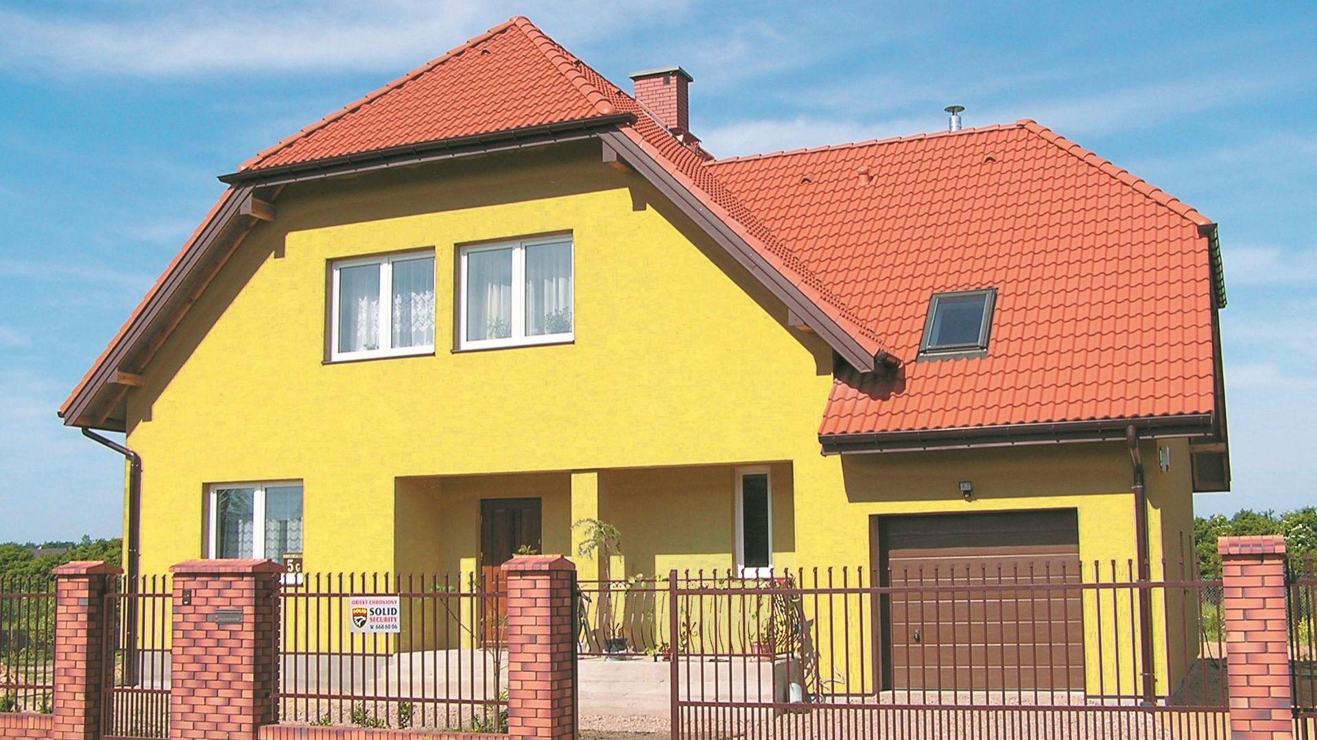 Docieplony dom jednorodzinny. Fot. Paroc