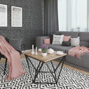 Salon w modnym stylu skandynawskim. Fot. Rosanero