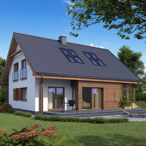Drewniana elewacja - jak dobrze ją zaprojektować?
