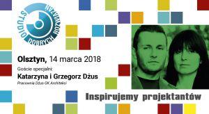 Wszystkich zawodowo projektujących wnętrza zapraszamy dzisiaj na spotkanie dla projektantów i architektów w Olsztynie. W programie wykłady, prezentacje oraz spotkanie z gośćmi specjalnymi - architektami Katarzyną i Grzegorzem Dżus z renomowanej p