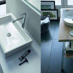 Nowoczesne umywalki - stawiane czy meblowe. Fot. Duravit