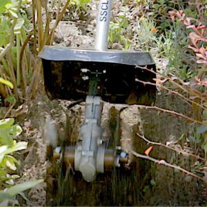 Przygotowanie ogrodu do wiosennych upraw. Versatool glebogryzarka SSCL E. Fot. Honda