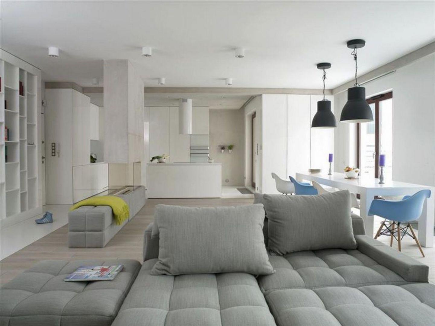 Pomysł na minimalistyczne wnętrze. Projekt: Monika i Adam Bronikowscy. Fot. Hola Design
