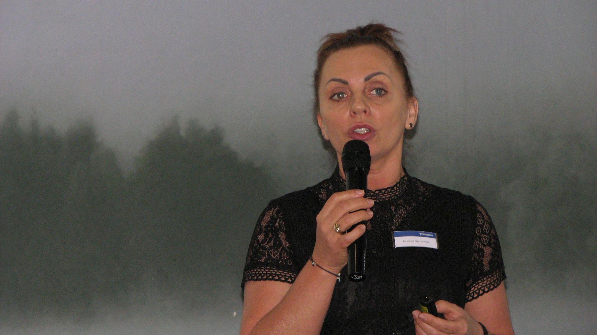 Agnieszka Bąk-Słomska, przedstawiciel marki Duravit. Studio Dobrych Rozwiązań, 14.03 Olsztyn