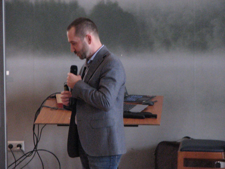 Dominik Kołoś, area manager marki LAKO. Studio Dobrych Rozwiązań, 14.03 Olsztyn