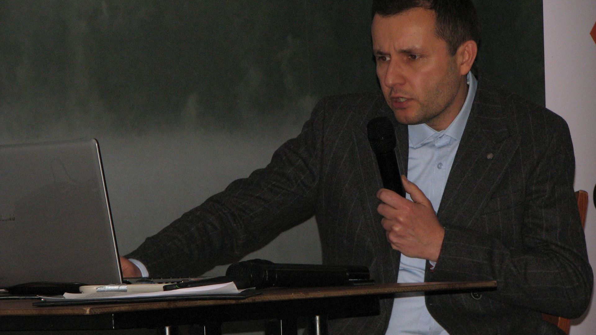 Gość specjalny spotkania - Grzegorz Dżus. Studio Dobrych Rozwiązań, 14.03 Olsztyn