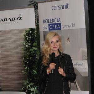 Monika Wiśniewska, przedstawiciel firmy Ceramika Paradyż. Studio Dobrych Rozwiązań, 14.03 Olsztyn
