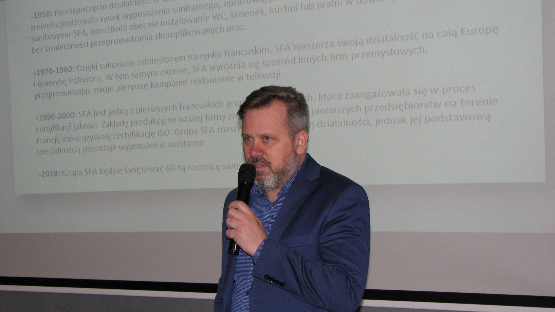 Przemysław Kapczuk, SFA Poland. Studio Dobrych Rozwiązań, 14.03 Olsztyn