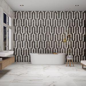 Płytki ceramiczne do łazienki: trendy na 2018 rok. Kolekcja   Marble Jolie. Fot. Apavisa