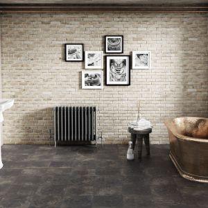 Płytki ceramiczne do łazienki: trendy na 2018 rok. Kolekcja Amano Black. Fot. Apavisa