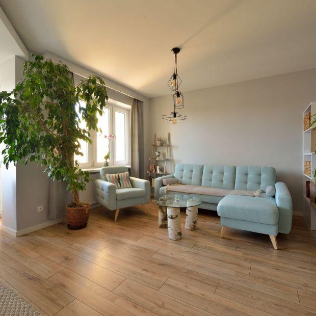 Przytulne wnętrze - piękny projekt w skandynawskim stylu