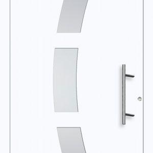 Drzwi zewnętrzne: nowa linia Tenvis. Fot. Aluhaus