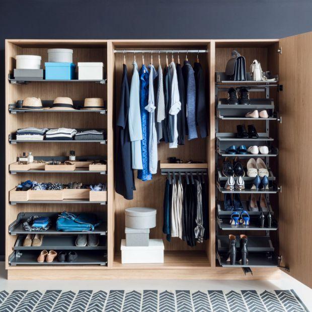 Garderoba: zobacz jak ją dobrze zorganizować