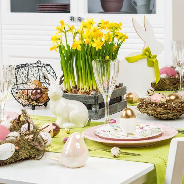 Wielkanocny stół: zobacz ciekawe aranżacje