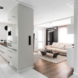 Mieszkanie eleganckie, nowoczesne i ponadczasowe. Projekt: Estera i Robert Sosnowscy / Studio Projekt. Zdjęcia: Fotomohito