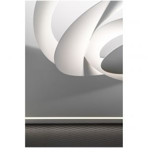 Lampa w salonie. Projekt: Estera i Robert Sosnowscy / Studio Projekt. Zdjęcia: Fotomohito