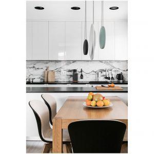Mieszkanie wykończono przy zastosowaniu wysokiej jakości materiałów. Projekt: Estera i Robert Sosnowscy / Studio Projekt. Zdjęcia: Fotomohito
