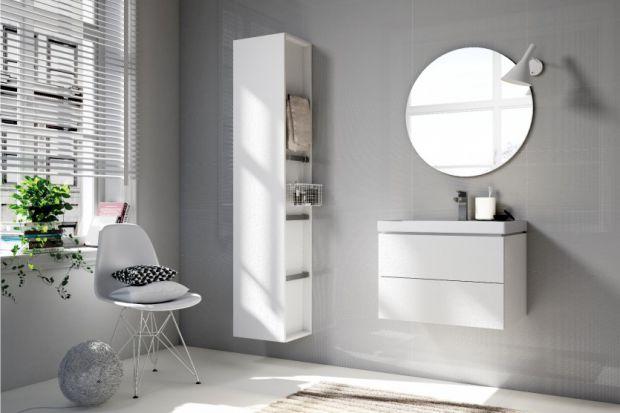 12 kolekcji mebli łazienkowych w bieli