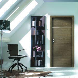Drzwi w naturalnej okleinie. Fot. Porta Drzwi